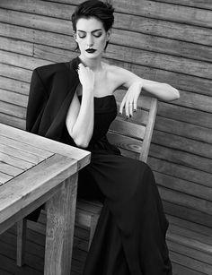 Энн Хэтэуэй — Фотосессия для «Elle» UK 2014 – 5