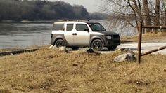 My 04 Honda Element Missouri River