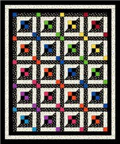 Pleasant Valley Creations: My newest pattern. Lattice Windows Quilt Pattern ...