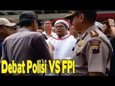 Berdebat hebat dengan POLISI ketua FPI sragen nekat mau sweeping atribut...