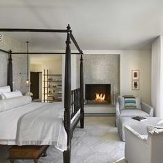 Bedroom Fireplace Design, Pictures, Remodel, Decor and Ideas