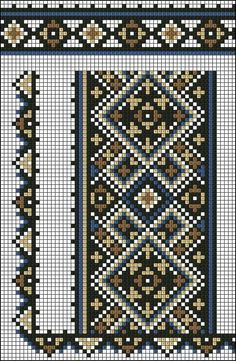 Cross Stitch Sampler Patterns, Cross Stitch Borders, Cross Stitch Designs, Cross Stitching, Folk Embroidery, Hand Embroidery Designs, Cross Stitch Embroidery, Embroidery Patterns, Chart Design