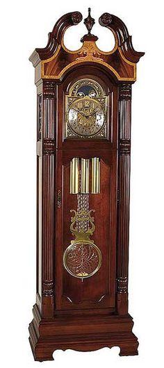 Victorian Crown Grandfather Clock
