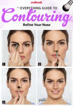 How to Refine Your Nose With Contouring