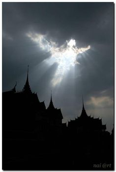 angel in the sky at Thailand