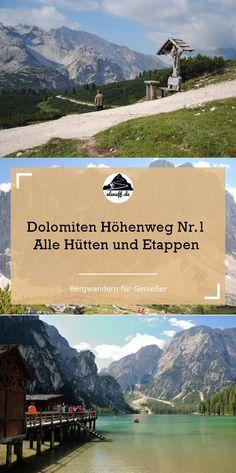 Dolomiten Höhenweg Nr. 1 - Alle Hütten und Etappen #berge #hüttenwandern #hiking #outdoor #alpen