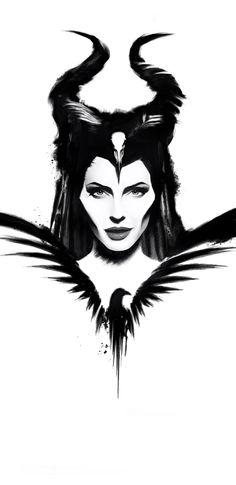maleficent mistress of evil poster Maleficent Tattoo, Maleficent Quotes, Maleficent Drawing, Disney Images, Disney Art, Dark Drawings, Disney Cartoons, Disney Posters, Silhouette Art