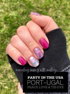 Nail Color Combos, Nail Polish Colors, Dry Nail Polish, Color Nails, Party Nail Design, Nails Design, Nail Art Designs, Nailart, Party Nails