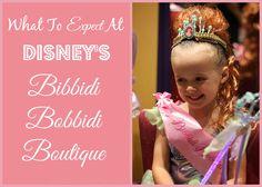 "What To Expect At Disney's Bibbidi Bobbidi Boutique!    (Sometimes referred to as ""Bippity Boppity Boutique"") #familytravel #disney"