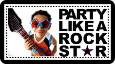 Over15 Rock Star Birthday Party Games and Ideas!