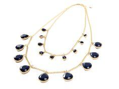 Marlyn Schiff Double Teardrop Necklace  so pretty
