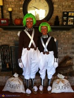 OompaLoompas::Not sure if these are Kids or Adults, but this could be adapted for All ages!