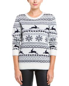 Spotted this Ted Baker Maysi Ivory Wool-Blend Sweater on Rue La La. Shop (quickly!).