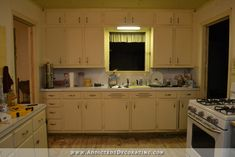 Kitchen Remodel – Finalized Design For The Wall Of Cabinets mcmansion to french country cottage