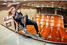 Pro Skater Julz Lynn Launches Her Own Skateboard Brand.