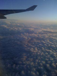 Always amazing to be above the clouds from way up high