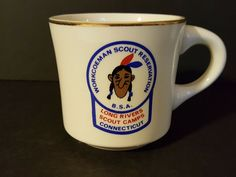 Vintage Boy Scout Workcoeman Scout Reservation Long Rivers Council CT coffee mug Best Coffee Mugs, Coffee Mug Sets, Coffee Cup, Bucks County Pennsylvania, Boy Scout Patches, Scouts Of America, Scout Camping, Vintage Boys, Boy Scouts