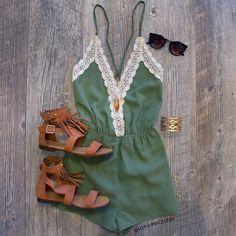 Amo el color verde militar