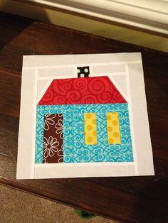 Ronald McDonald House quilt block, via Flickr.