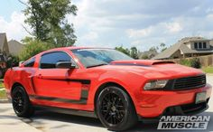 Hood & front chin spoiler... 2011 Ford Mustang, Bmw