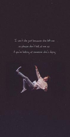 Song Lyrics Wallpaper, Wallpaper Quotes, Seventeen Lyrics, Ikon Kpop, Ikon Wallpaper, Bts Lyrics Quotes, Korean Quotes, True Love Quotes, Tumblr Quotes