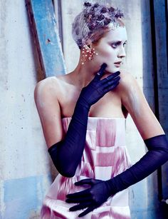 Toni Garrn by Txema Yeste for Numéro China