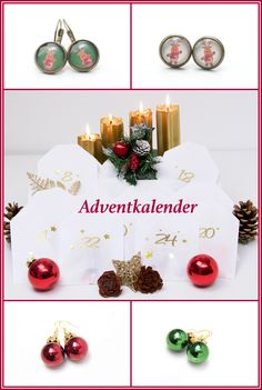 Andventkalender voll gefüllt mit tollen Schmuckstücke von www.justtrisha.com  Limitierte Auflage!! Handmade Art, Christmas Time, Place Cards, Place Card Holders, Etsy, Creative Products, Jewelry Shop, Advent Calendar, Invitations