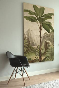 Houten muurdecoraties van KEK Amsterdam - Styling-ID Paint Colors For Living Room, Botanical Drawings, Stencil Painting, Interior Accessories, Wall Wallpaper, Decoration, Wall Design, Interior Inspiration, Tropical