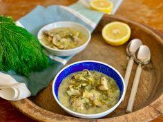 Vegetarian μαγειρίτσα Dip Recipes, Healthy Recipes, Healthy Food, Cheeseburger Chowder, Ramen, Dips, Avocado, Soup, Vegetarian