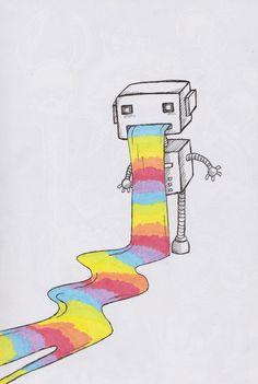Rainbow Puke.