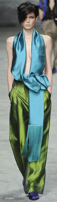 Haider Ackermann Fashion Show & more details