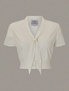 The Seamstress of Bloomsbury 1940's Authentic Inspired Vintage Clothing Bonnie Sailor Blouse