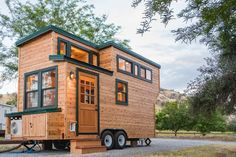 A 18 ft tiny house from California Tiny House