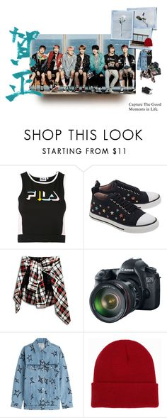"""""""forever, we are young"""" by luhansolo ❤ liked on Polyvore featuring Fila, RED Valentino, Eos, Être Cécile, NLY Accessories, Marc Jacobs, Spring, contest, kpop and contestentry"""