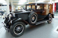 Horch 350 1929 black vl