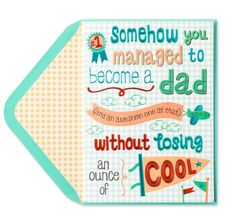 3f9f8415669d39 Fun card ideas at Papyrus! Happy Fathers Day
