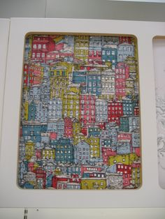 Wallpaper ideas - coloured houses, very Bristol