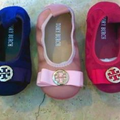 baby Tory Burch! how cute!