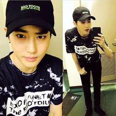 Junmyeon- Suho..  Wow...  Hell yes......