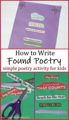 How to Write Found Poetry