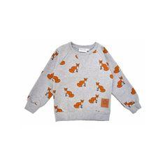 sweatshirt-renard-gris