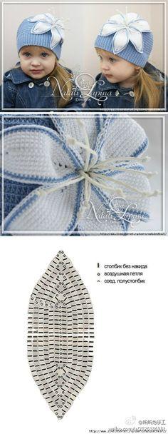 Crochet Patterns Hat Miimii – crafts for mother and daughter: magic szydełka- inspiration, stitches … Bonnet Crochet, Crochet Baby Hats, Crochet Beanie, Crochet Motif, Crochet For Kids, Diy Crochet, Irish Crochet, Crochet Designs, Crochet Crafts