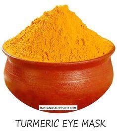 turmeric eye mask