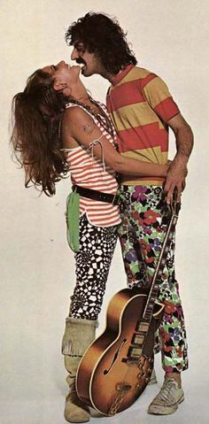 frank zappa with claudia cardinale - Google Search