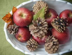 Apples and Cones jigsaw puzzle in Puzzle of the Day puzzles on TheJigsawPuzzles.com