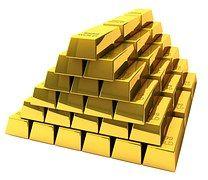 Free Image on Pixabay - Gold, Bullion, Bars, Feingold, Bank