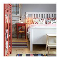 HEMNES Avlastningsbord - röd - IKEA