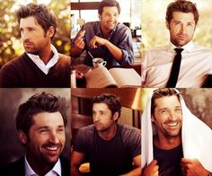 Patrick Dempsey - I adore this actor. I remember the first time I saw him was in a movie called 'Can't Buy Me Love'. Another guy who just got even better with age ^_^
