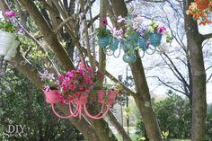 Chandelier Plant Holders