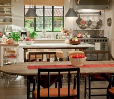 It's Complicated kitchen - I love everything about this kitchen.  I watch the movie just to see it :)